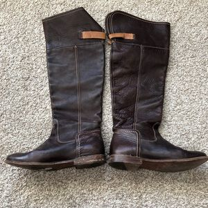 Vintage Frye Brown Leather Boots